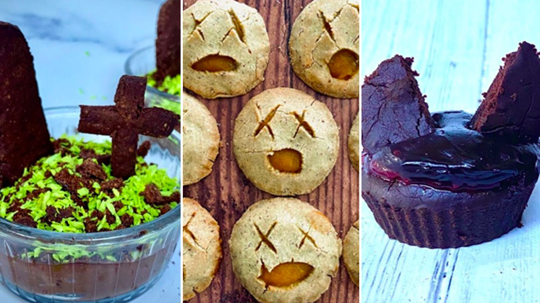3 Spooky Bakes To Make With Kids That Are – Shhh! – Actually Healthy