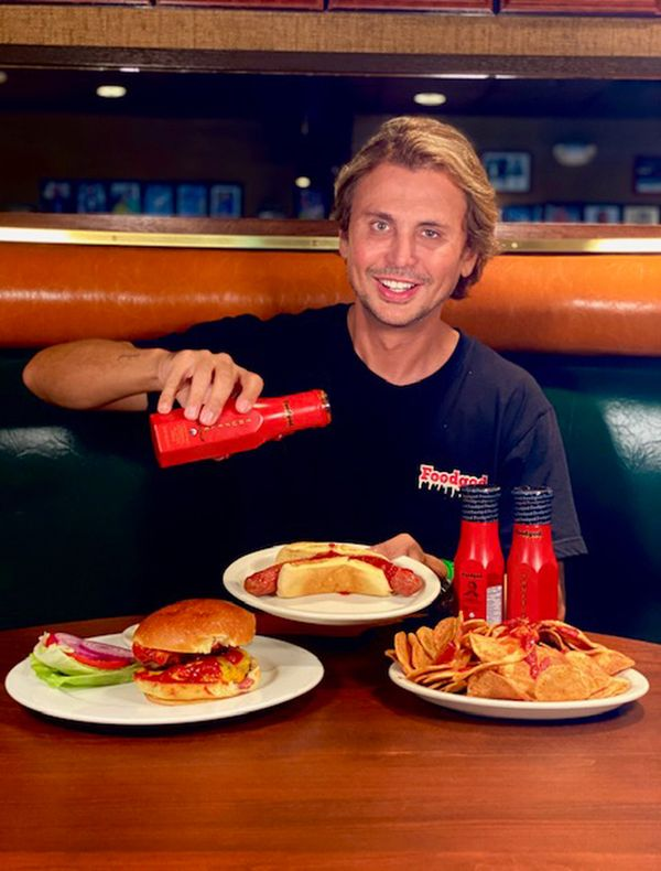 "Jonathan Cheban is best known for being Kim Kardashian's good friend, but now he is attempting to get known as a ""food god"" w"
