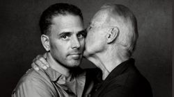 Heartwarming father-son pics flood internet after troll calls Biden photo