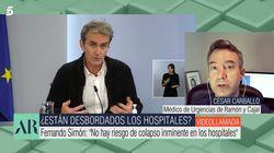 El popular médico César Carballo rebate a Fernando Simón: