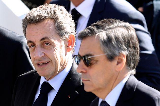 Nicolas Sarkozy et François Fillon, ici à Nice, le 15 octobre