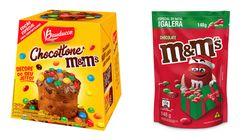 M&M's lança produtos especiais para o Natal de
