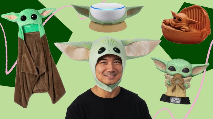 "In honor of the second season of ""The Mandalorian,"" this Baby Yoda merch is out of this world."
