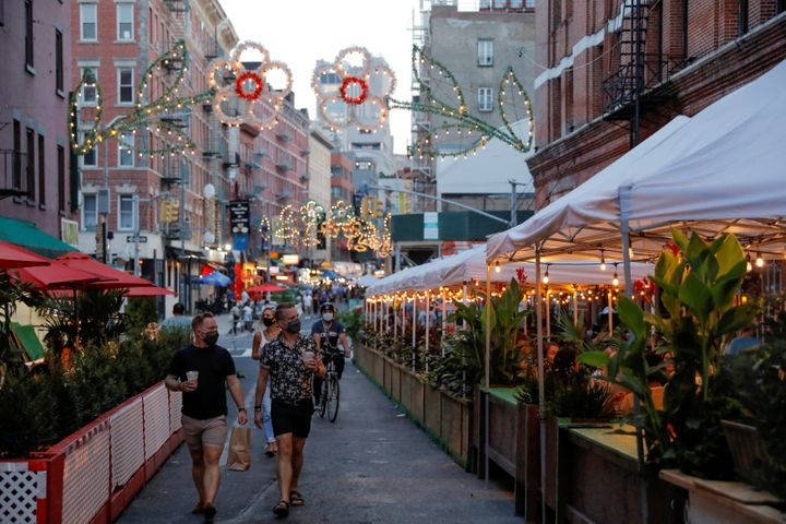 Expanded outdoor dining in New York City has helped restaurants throughout the warmer months of the pandemic, but restaurant