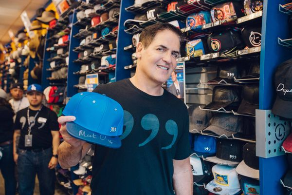 "Mark Cuban is stepping out of the ""Shark Tank"" and into the wardrobe business. His Three Commas brand offers <a href=""https:/"