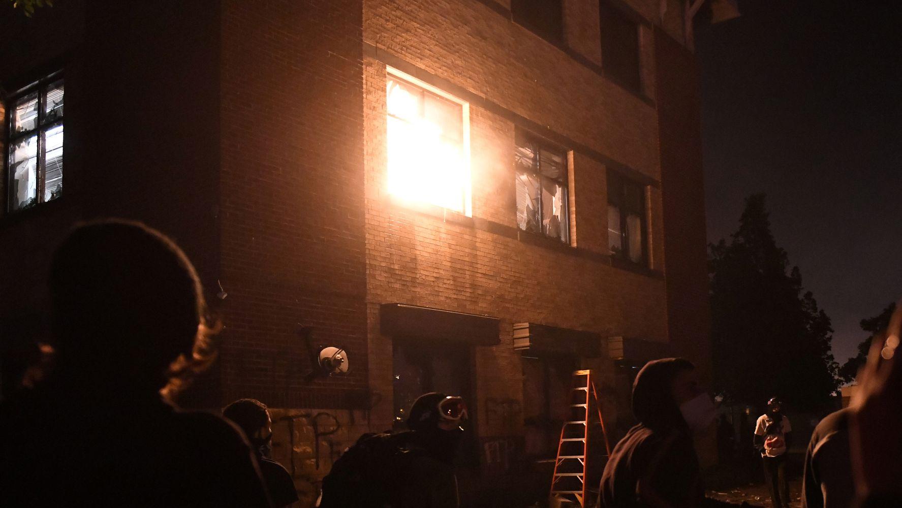 FBI: Far-Right Extremist Posed As BLM Protester, Shot Minneapolis Police Precinct