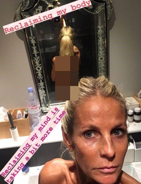 스웨덴 모델 출신 방송인 울리카 존슨