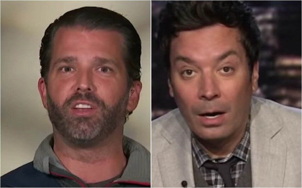 Donald Trump Jr.'s 'Pumped' Fox News Interview Gets The Treatment From Jimmy Fallon