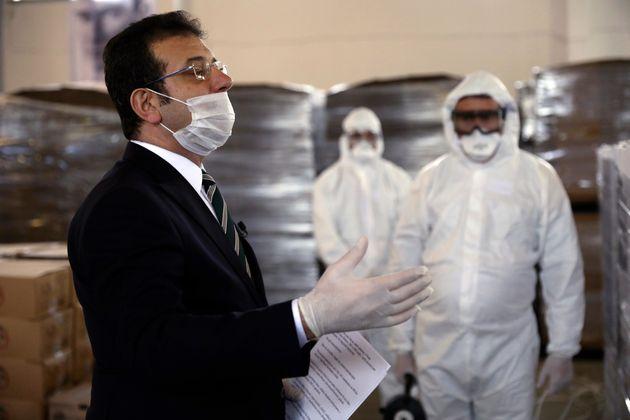 Στο νοσοκομείο με κορονοϊό ο δήμαρχος Κωνσταντινούπολης, Εκρέμ