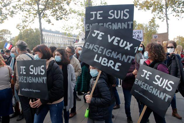Insegnanti in Francia, prigionieri