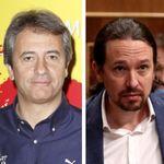 El comentario de Manolo Lama sobre Pablo Iglesias en plena narración del Barcelona-Real