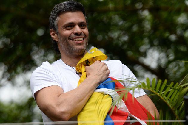 Leopoldo López, en