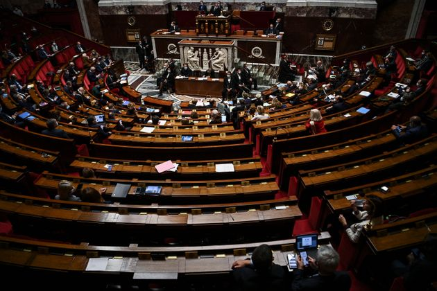 À l'Assemblée nationale à Paris, le 6 octobre