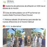 Cachondeo con este tuit de Vox Murcia: hablan de