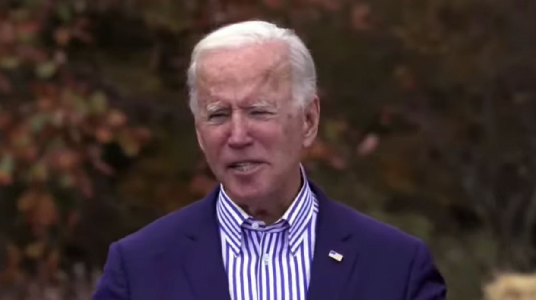 Biden Says He'll Be A President For All, Including Pro-Trump 'Chumps' At Rally
