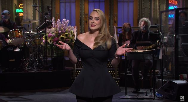 Adele's Opening Monologue On Saturday Night Live Was Everything We Love About Adele