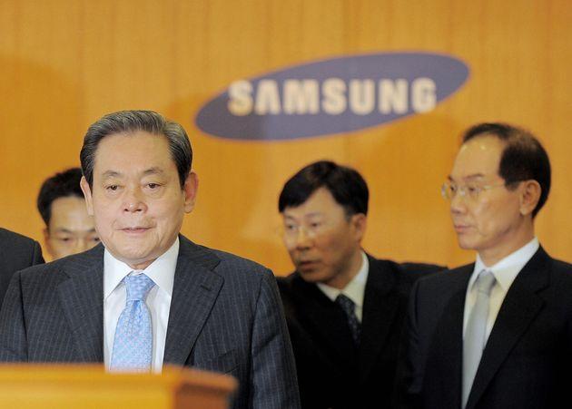 Lee Kun-Hee, ici en 2008, est mort ce dimanche, a annoncé le groupe Samsung qu'il a transformé...
