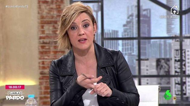 Cristina Pardo, presentadora de 'Liarla Pardo'
