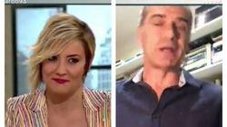 A Cristina Pardo le cambia el rostro: el insulto de Toni Cantó a Pedro Sánchez en 'Liarla