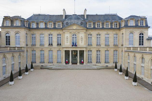 Le palais de l'Élysée à Paris. (photo