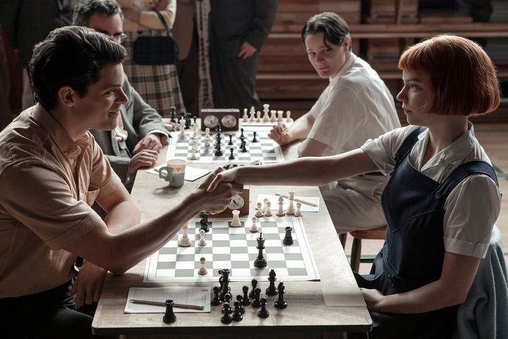 """""""The Queen's Gambit"""" on Netflix."""