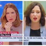 El mal rato de Ayuso en Telemadrid: comienza a balbucear tras esta pregunta sobre la Sanidad