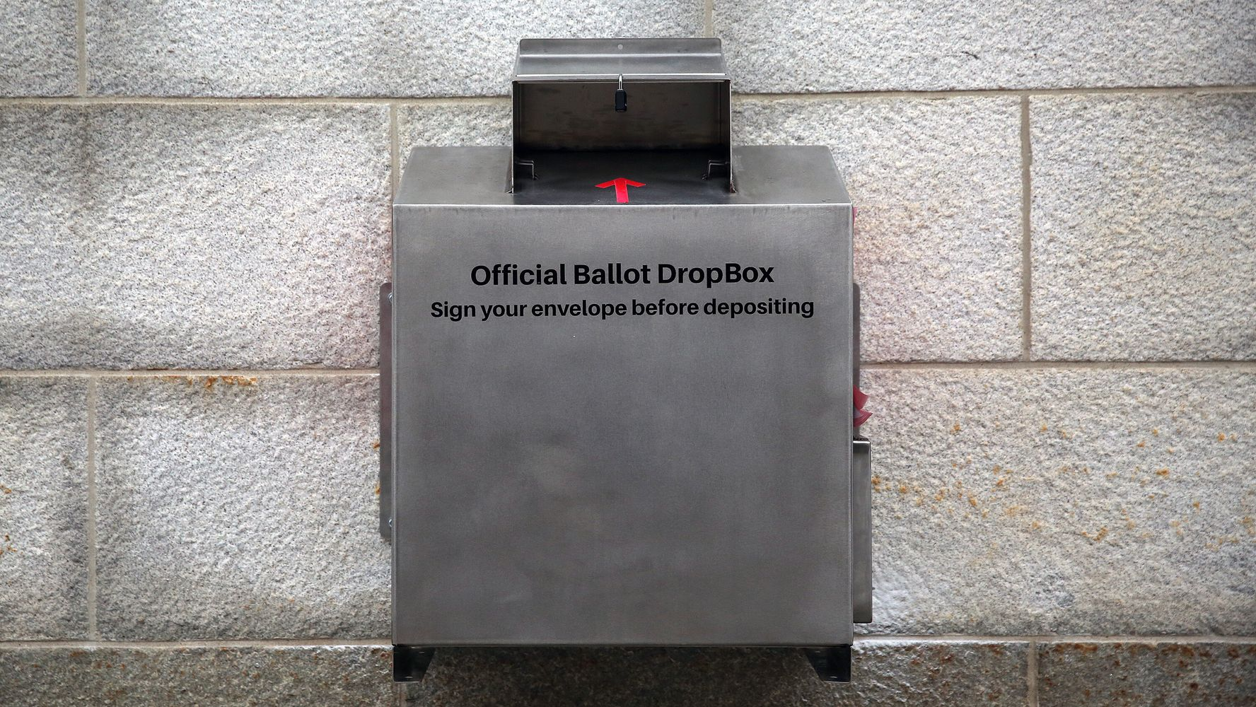 Massachusetts Asks FBI To Investigate Fire Set Inside Ballot Drop Box