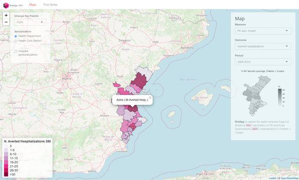 Captura de pantalla de la aplicación RotApp.Fundación