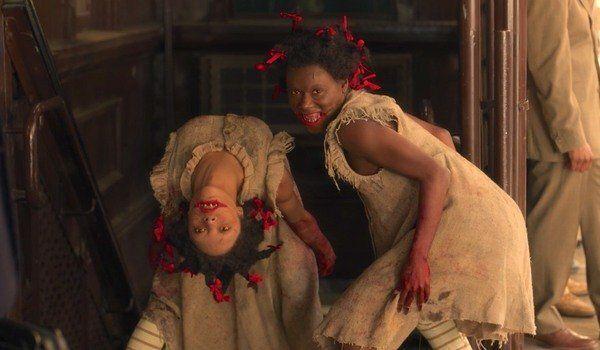 Topsy (Kaelynn Harris) and Bopsy (Bianca Brewton).