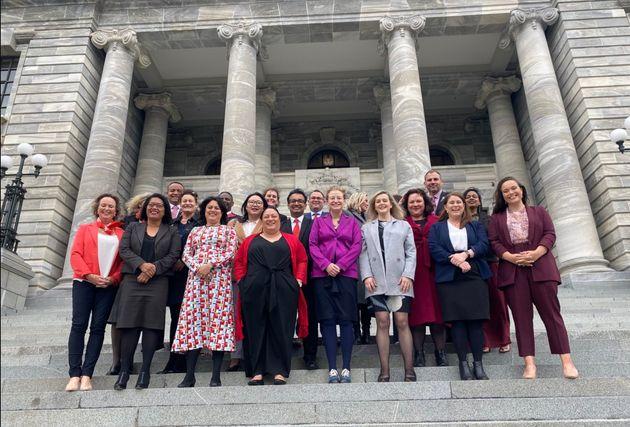 国政選挙で選ばれたニュージーランド・労働党の議員たち