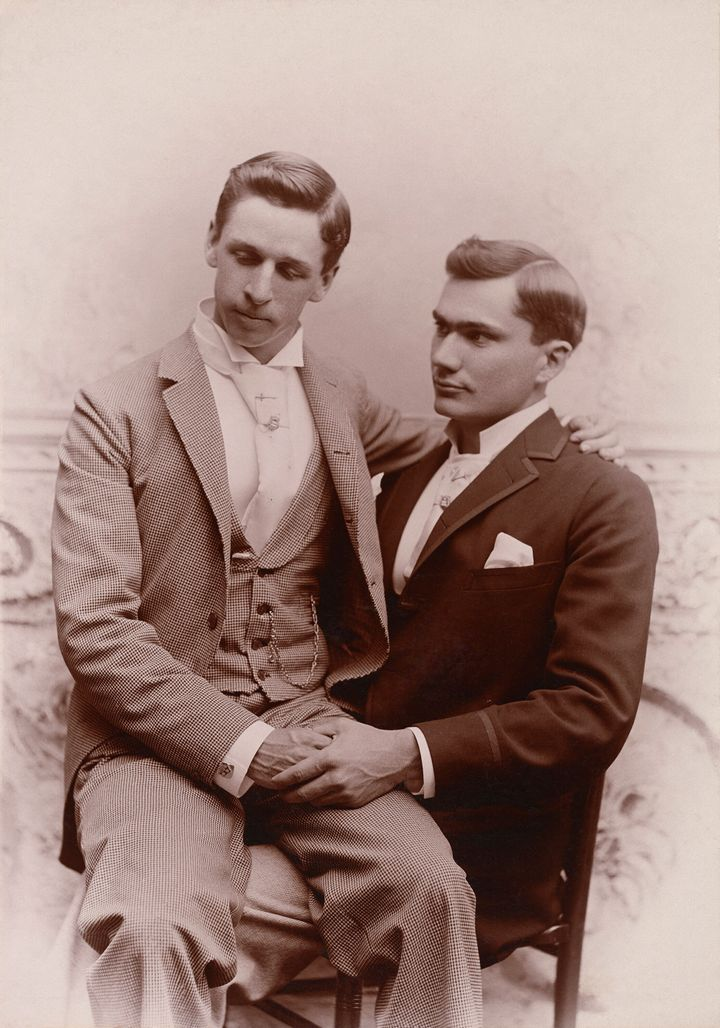 Nini and Treadwell first purchased a photograph of two men in an intimate pose together, circa 1920, from a Texas antique sho