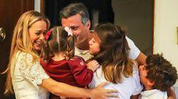 El opositor Leopoldo López llega a España y desencadena un choque diplomático con