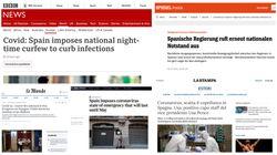 La prensa internacional coincide: el estado de alarma es