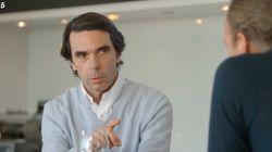 El augurio fallido de Aznar en 2017: le dijo a Bertín Osborne lo que pasaría si Pablo Iglesias llegaba al