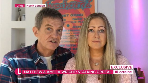 Matthew and Amelia Wright spoke about their ordeal on Monday