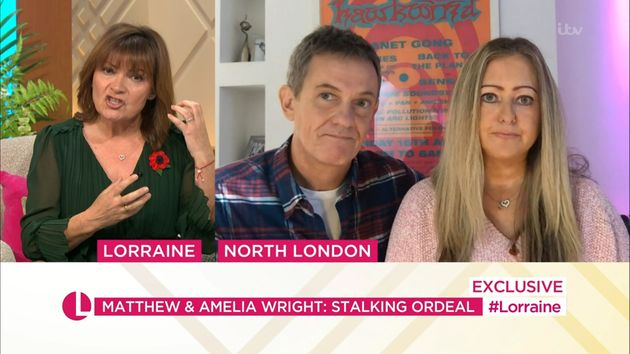 Lorraine Kelly interviewed the pair about their traumatising