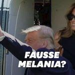 La théorie selon laquelle Melania Trump a une doublure est de retour avec cette