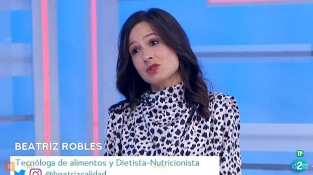 Beatriz Robles en 'Saber