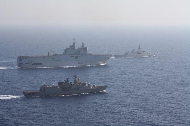 Κοινή ναυτική άσκηση Ελλάδας - Γαλλίας- Αύγουστος