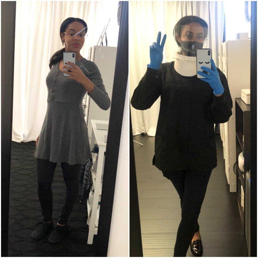 What People Wore To Work Before The Pandemic vs. Now