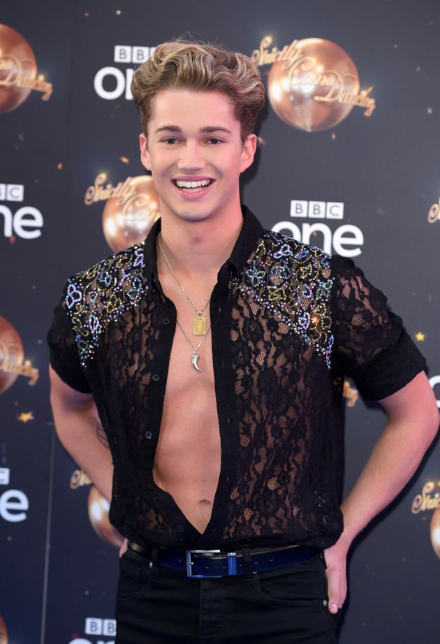 AJ Pritchard at the Strictly launch in