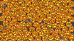 ¿Eres capaz de encontrar la calabaza de Halloween sin