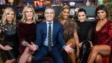 WATCH WHAT HAPPENS LIVE WITH ANDY COHEN -- Pictured (l-r): Ramona Singer, Vicki Gunvalson, Andy Cohen, NeNe Leakes, Kyle Richards and Teresa Giudice -- (Photo by: Charles Sykes/Bravo/NBCU Photo Bank/NBCUniversal via Getty Images)