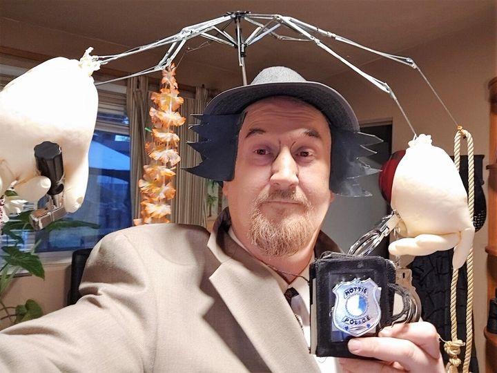 Robert Doyle as Inspector Gadget.