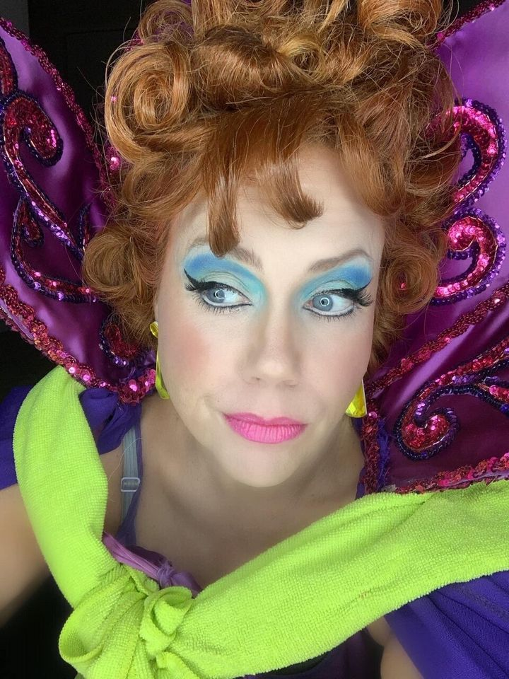 "Carrie Wenos as Endora from ""Bewitched."""