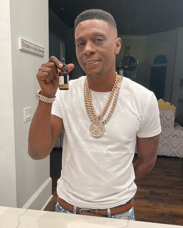 "Rapper Boosie Badazz has his own CBD line. But unlike other celeb CBDs, Badazz pitches his as <a href=""https://www.blkbayou.c"