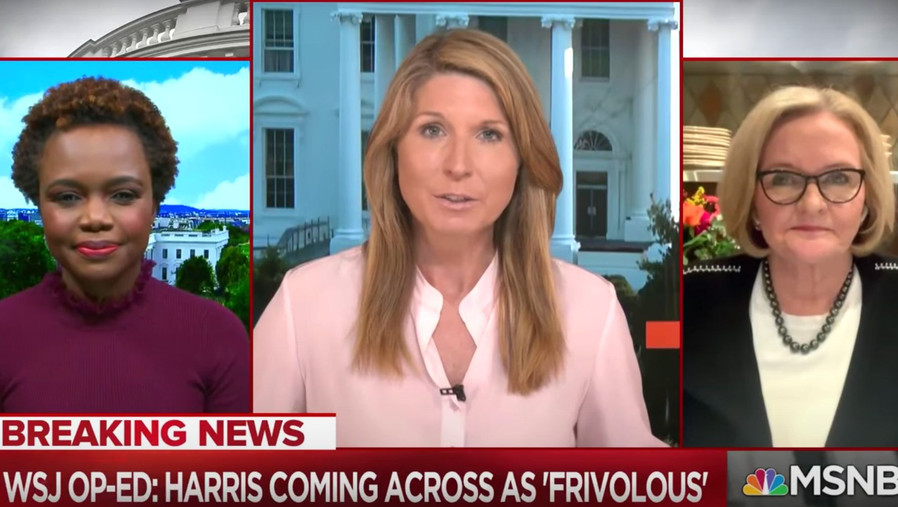Nicolle Wallace Slams Conservative Columnist's 'Bitchy' Take On Kamala Harris