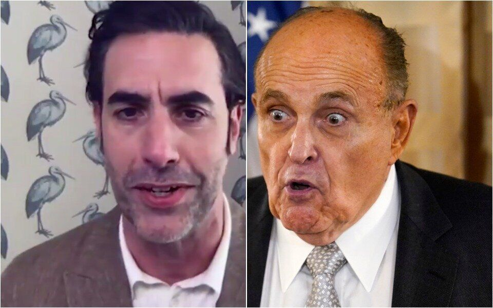 Sacha Baron Cohen Reveals How That Infamous Rudy Giuliani Stunt Almost Went Wrong