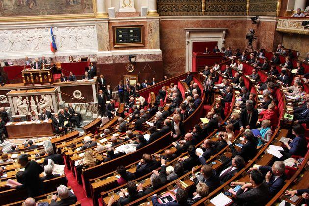 Session à l'Assemblée nationale de 5 mai 2015 (Photo by Onur Usta/Anadolu Agency/Getty