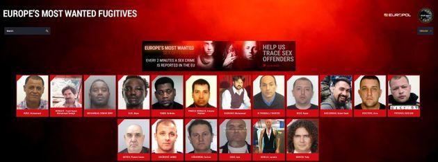 Diffusion par Europol des 19